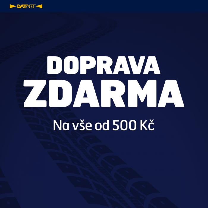 DATART - doprava ZDARMA!