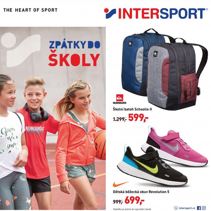 Zpátky do školy s Intersportem