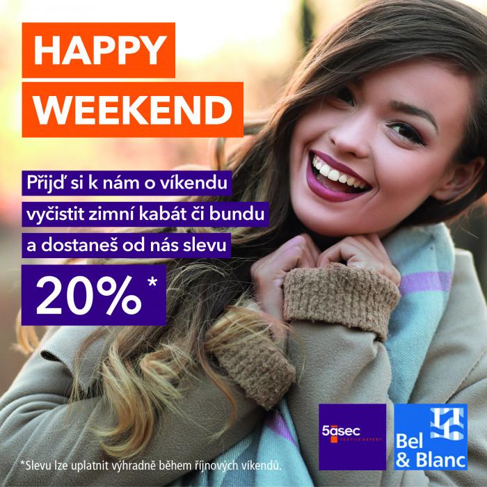 Happy Weekend se slevou 20%