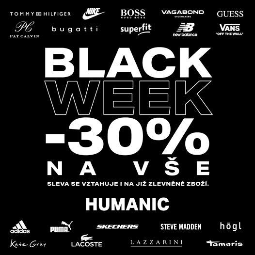 Black Week v Humanicu