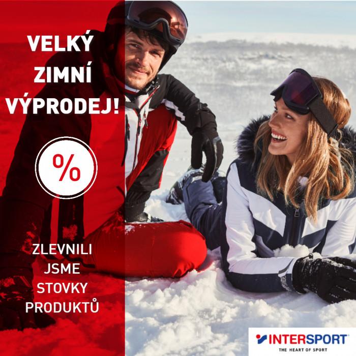 Zimní výprodej v Intersportu je v plném proudu!