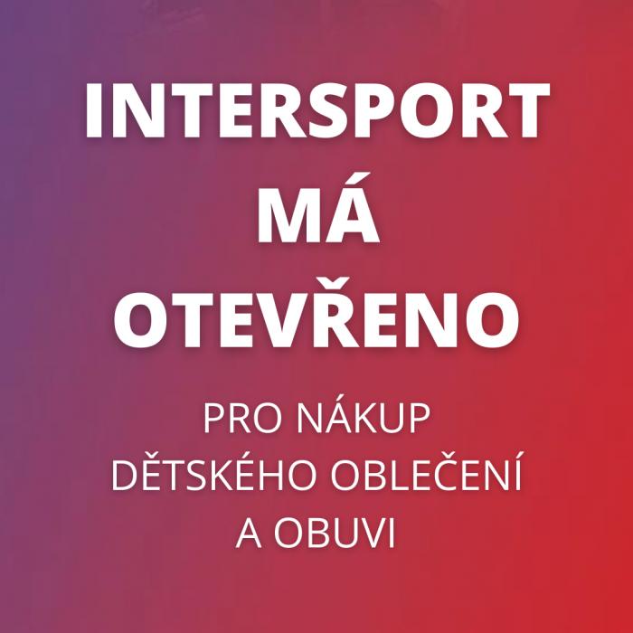 Dětské zboží v Intersportu