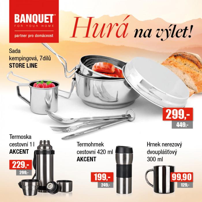 Letní nabídka prodejny Banquet