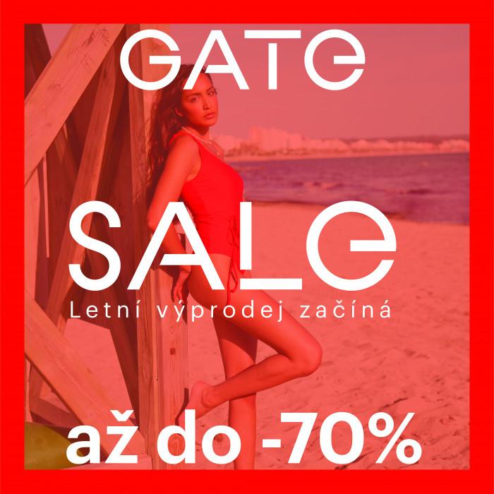 Letní výprodej v GATE začíná