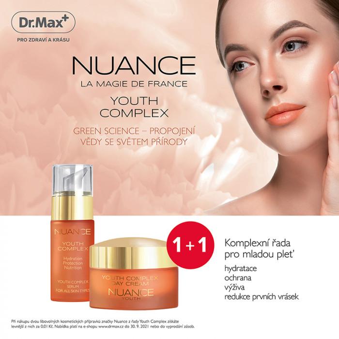Akční slevy na celou řadu kosmetických přípravků Nuance